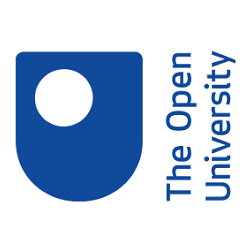 The Open University's logo.