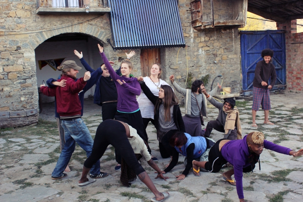 Participants of the training in Spain in March 2019 photo: Hannah Sneyd / Reboot The Roots
