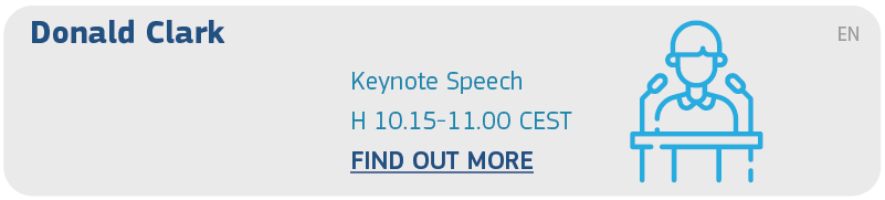 Donald Clark - Keynote Speech - H 10.15-11 - Find out more