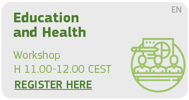 Education and health Workshop H 11.00 - 12.00 Register Here