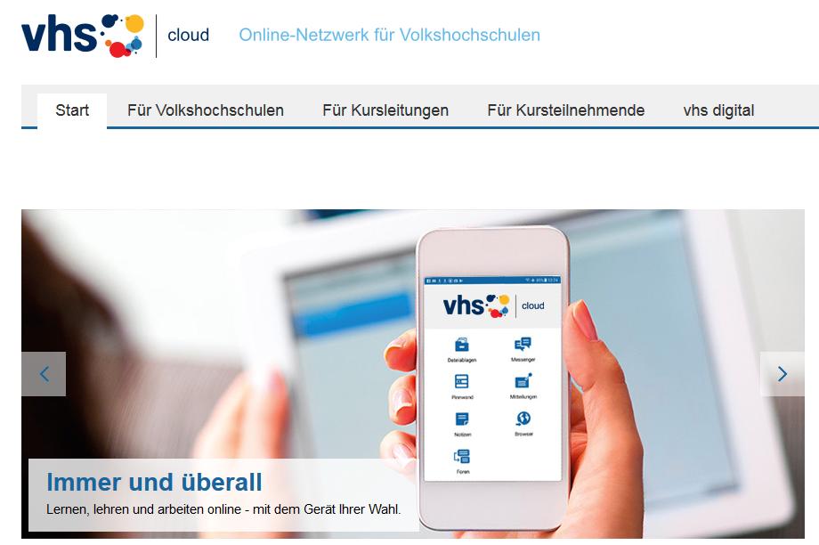 Screenshot vhs.cloud