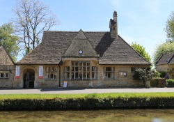 Village hall in Lower Slaughter, Gloucestershire