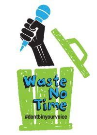 #wastenotime
